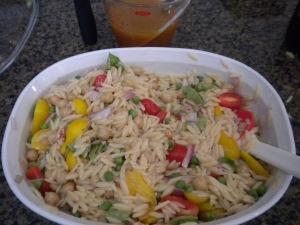 Cold Orzo Salad
